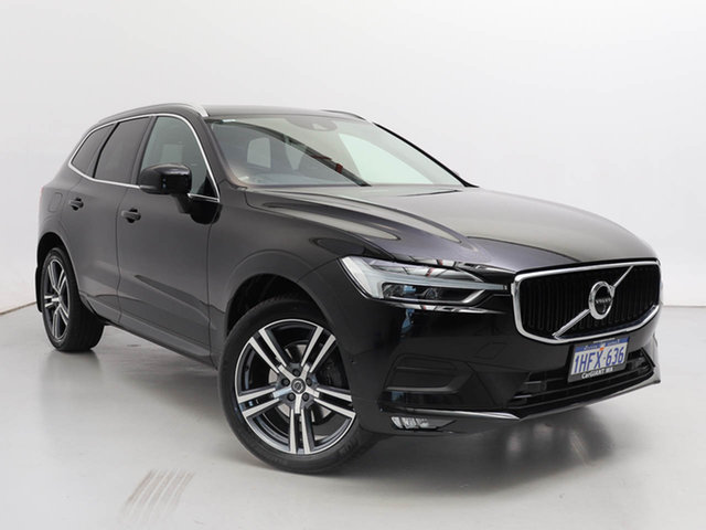 Used Volvo XC60 246 MY18 D4 Momentum (AWD), 2018 Volvo XC60 246 MY18 D4 Momentum (AWD) Black 8 Speed Automatic Geartronic Wagon