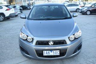 2012 Holden Barina TM Grey 6 Speed Automatic Sedan.