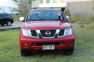 2008 Nissan Pathfinder R51 MY08 ST-L Red 5 Speed Sports Automatic Wagon.