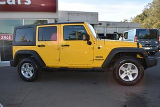 2015 Jeep Wrangler JK MY2015 Unlimited Sport Yellow 5 Speed Automatic Softtop.