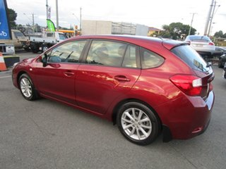 2014 Subaru Impreza G4 MY14 2.0i Lineartronic AWD Red 6 Speed Constant Variable Hatchback.