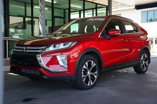 2019 Mitsubishi Eclipse Cross YA MY19 ES 2WD Brilliant Red 8 Speed Constant Variable Wagon