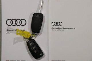 2018 Audi Q3 8U MY18 1.4 TFSI (110kW) Black 6 Speed Automatic Wagon
