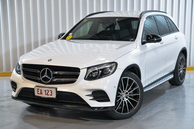 Used Mercedes-Benz GLC-Class X253 GLC220 d 9G-Tronic 4MATIC Hendra, 2015 Mercedes-Benz GLC-Class X253 GLC220 d 9G-Tronic 4MATIC White 9 Speed Sports Automatic Wagon