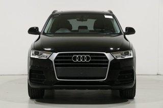 2018 Audi Q3 8U MY18 1.4 TFSI (110kW) Black 6 Speed Automatic Wagon.