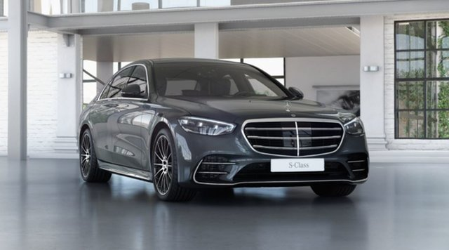 New Mercedes-Benz S-Class W223 801MY S450 9G-Tronic 4MATIC Mulgrave, 2021 Mercedes-Benz S-Class W223 801MY S450 9G-Tronic 4MATIC Graphite Grey 9 Speed Sports Automatic