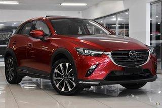 2021 Mazda CX-3 DK4W7A Akari SKYACTIV-Drive i-ACTIV AWD Red 6 Speed Sports Automatic Wagon.