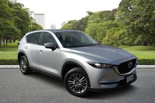 2018 Mazda CX-5 KF2W7A Maxx SKYACTIV-Drive FWD Billet Silver 6 Speed Sports Automatic Wagon.