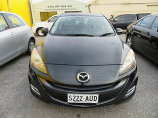 2009 Mazda 3 BL SP25 Black 5 Speed Automatic Sedan.