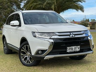 2016 Mitsubishi Outlander ZK MY17 LS 4WD Safety Pack White 6 Speed Constant Variable Wagon.