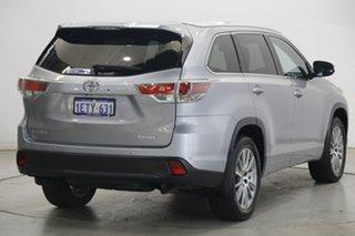 2015 Toyota Kluger GSU50R Grande 2WD Silver 6 Speed Sports Automatic Wagon