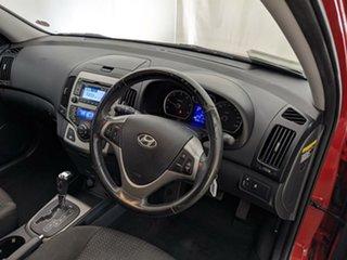 2012 Hyundai i30 FD MY11 SLX Red 4 Speed Automatic Hatchback