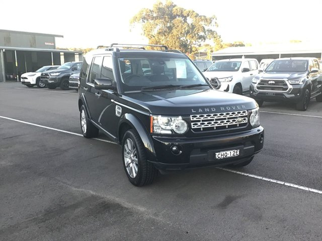 Pre-Owned Land Rover Discovery 4 Series 4 MY12 SDV6 CommandShift HSE Cardiff, 2012 Land Rover Discovery 4 Series 4 MY12 SDV6 CommandShift HSE Black 6 Speed Sports Automatic Wagon