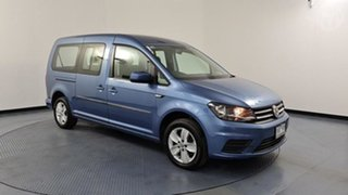 2017 Volkswagen Caddy 2K MY17 Maxi Trendline TSI220 Blue 7 Speed Auto Direct Shift Wagon.