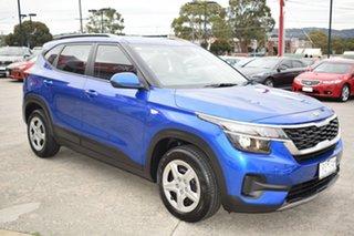 2019 Kia Seltos SP2 MY20 S 2WD Blue 1 Speed Constant Variable Wagon.