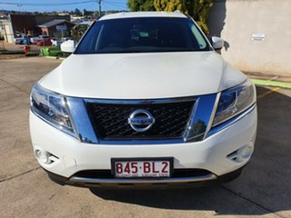 2015 Nissan Pathfinder R52 MY15 ST X-tronic 2WD White 1 Speed Constant Variable Wagon