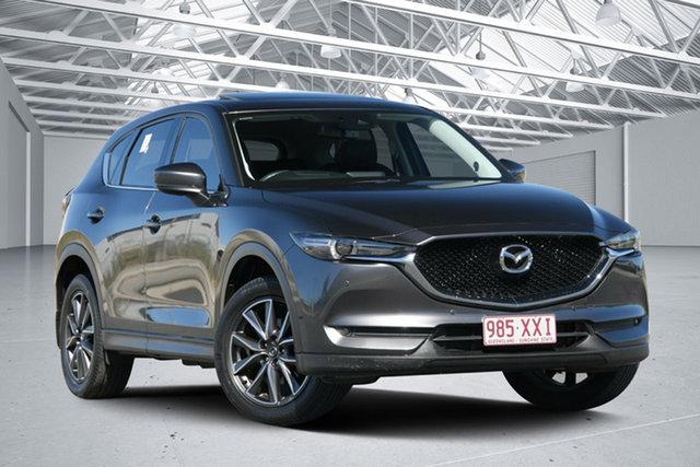 Used Mazda CX-5 MY17 GT (4x4) Eagle Farm, 2017 Mazda CX-5 MY17 GT (4x4) Grey 6 Speed Automatic Wagon