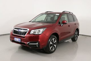 2018 Subaru Forester MY18 2.5I-L Ruby Red Continuous Variable Wagon.