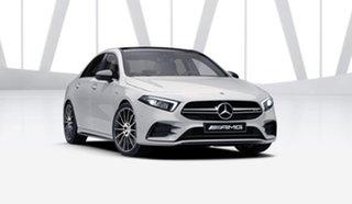 2021 Mercedes-Benz A-Class V177 801+051MY A35 AMG SPEEDSHIFT DCT 4MATIC Polar White 7 Speed