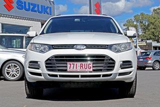 2011 Ford Territory SZ Titanium Seq Sport Shift AWD Winter White 6 Speed Sports Automatic Wagon.