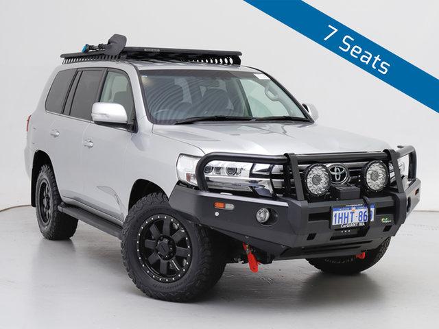 Used Toyota Landcruiser VDJ200R MY16 VX (4x4), 2018 Toyota Landcruiser VDJ200R MY16 VX (4x4) Silver 6 Speed Automatic Wagon
