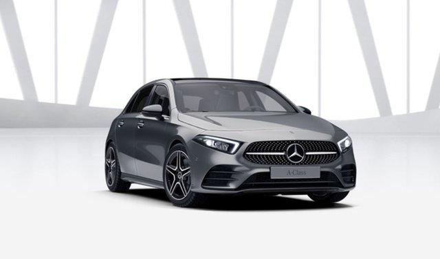 Demonstrator Mercedes-Benz A-Class W177 801+051MY A250 DCT 4MATIC Mulgrave, 2021 Mercedes-Benz A-Class W177 801+051MY A250 DCT 4MATIC Mountain Grey 7 Speed