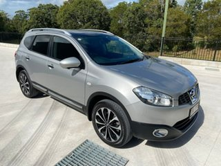 2013 Nissan Dualis J107 Series 3 MY12 +2 X-tronic AWD Ti-L Silver 6 Speed Constant Variable.
