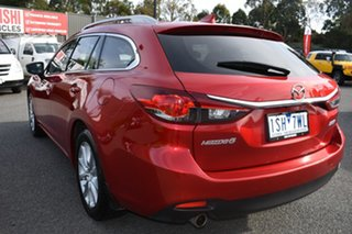 2016 Mazda 6 GJ1032 Sport SKYACTIV-Drive Red 6 Speed Sports Automatic Wagon.