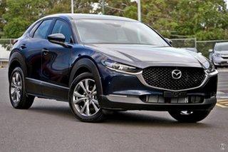 2021 Mazda CX-30 DM2W7A G20 SKYACTIV-Drive Astina Blue 6 Speed Sports Automatic Wagon.