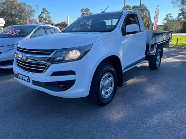 Used Holden Colorado RG MY17 LS Maitland, 2017 Holden Colorado RG MY17 LS White 6 Speed Manual Cab Chassis