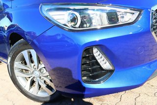 2019 Hyundai i30 PD2 MY20 Active Intense Blue 6 Speed Automatic Hatchback.