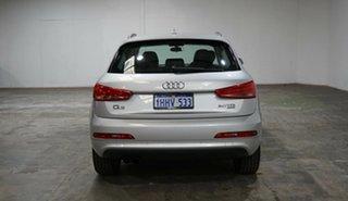 2014 Audi Q3 8U MY14 TDI S Tronic Quattro Silver 7 Speed Sports Automatic Dual Clutch Wagon