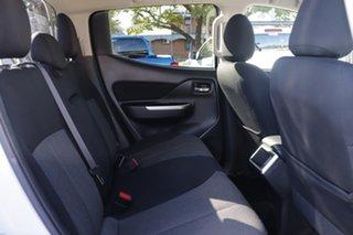 2018 Mitsubishi Triton MR MY19 GLS Double Cab White 6 Speed Sports Automatic Utility