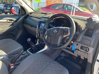 2013 Holden Colorado RG LX (4x4) White 5 Speed Manual Crew Cab Pickup