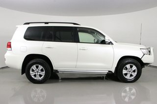 2017 Toyota Landcruiser VDJ200R MY17 LC200 Altitude Special Edition White 6 Speed Automatic Wagon