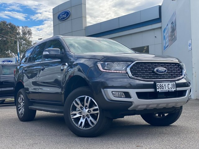Demo Ford Everest UA II 2021.25MY Trend Port Adelaide, 2021 Ford Everest UA II 2021.25MY Trend Meteor Grey 10 Speed Sports Automatic SUV