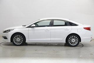 2017 Hyundai Sonata LF3 MY17 Active White Cream 6 Speed Sports Automatic Sedan.
