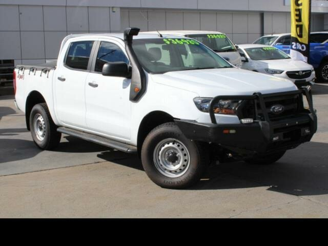 Used Ford Ranger PX MkII MY17 XL 3.2 Plus (4x4) Phillip, 2017 Ford Ranger PX MkII MY17 XL 3.2 Plus (4x4) 6 Speed Automatic Crew Cab Utility