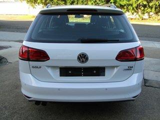 2015 Volkswagen Golf VII MY16 92TSI DSG Trendline White 7 Speed Sports Automatic Dual Clutch Wagon.