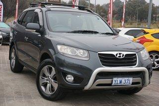 2011 Hyundai Santa Fe CM MY11 Highlander Grey 6 Speed Sports Automatic Wagon.