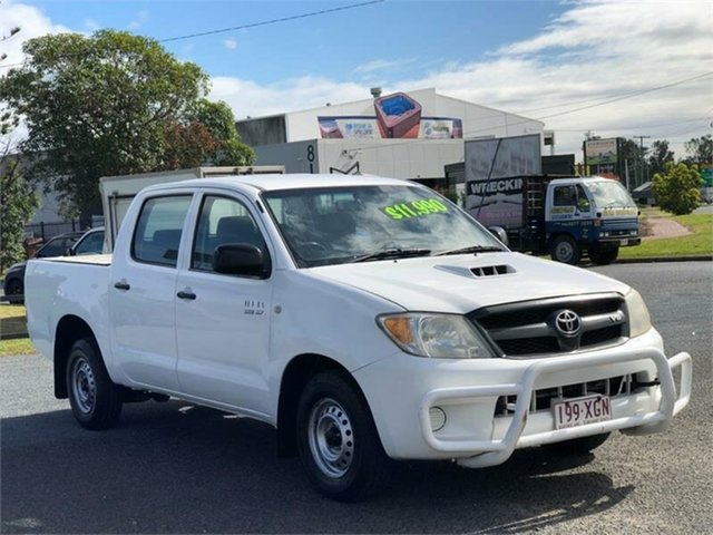 Used Toyota Hilux TGN16R Workmate Archerfield, 2005 Toyota Hilux TGN16R Workmate White 5 Speed Manual Utility