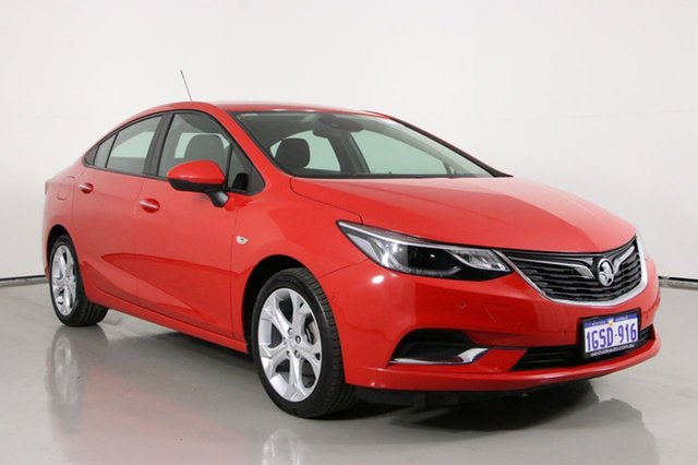 Used Holden Astra BL MY18 LT Bentley, 2018 Holden Astra BL MY18 LT Red 6 Speed Automatic Sedan