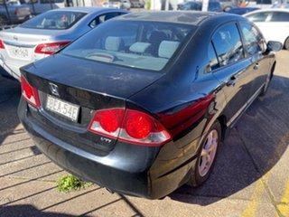 2007 Honda Civic 8th Gen MY07 VTi Black 5 Speed Manual Sedan
