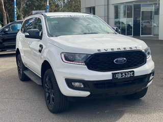 2020 Ford Everest UA II 2021.25MY Sport Arctic White 6 Speed Sports Automatic SUV