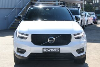 2019 Volvo XC40 536 MY20 T5 R-Design (AWD) Crystal White 8 Speed Automatic Wagon