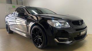 2016 Holden Ute VF II SS-V Black 6 Speed Manual Utility.