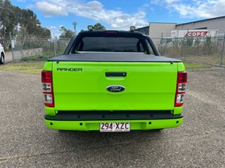2014 Ford Ranger PX XL 2.2 (4x4) Green 6 Speed Automatic Crew Cab Utility