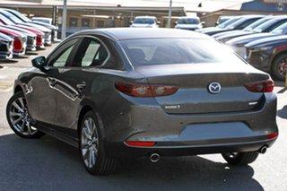2021 Mazda 3 BP2S7A G20 SKYACTIV-Drive Evolve Grey 6 Speed Sports Automatic Sedan
