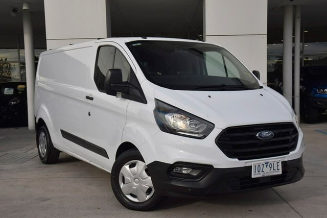 Used Ford Transit Custom VN 2018.75MY 340L (Low Roof) Oakleigh, 2019 Ford Transit Custom VN 2018.75MY 340L (Low Roof) White 6 Speed Automatic Van