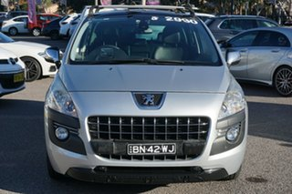 2012 Peugeot 3008 T8 MY12 Allure SUV Silver 6 Speed Sports Automatic Hatchback.